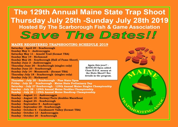 Maine Trap Shooting